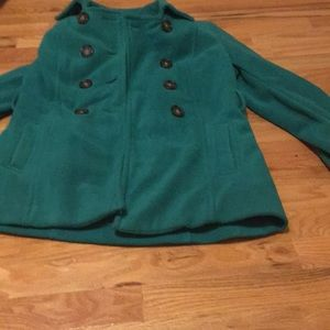 USED ALT. Gwen Stacy Spider-Man Cosplay Green Coat